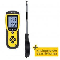 Anemometre TA300 , düz sonda kalibrasyon sertifikası dahil