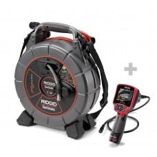 SeeSnake microReel Boru Kamerası + Dijital Denetim Kamerası micro CA-350